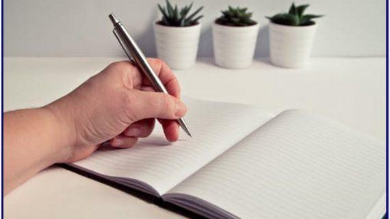 Biasakan lagi Menulis di Buku, Karena Bagus untuk Otak Kita