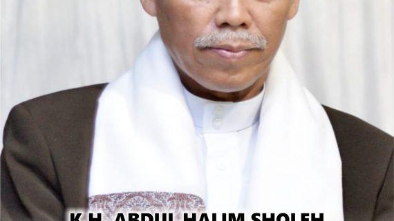Buku Autobiografi K.H Abdul Halim Sholeh, Pendidik Jiwa dan Keteladanan